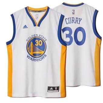 aebe7e0466d44 Compra Jersey De BAsquetbol De Golden State Warriors De Curry online ...