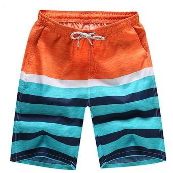 Pantalones Cortos De Surf Swimwear Trunks De Playa Traje De Baño Hombre 99e1ad4a64f