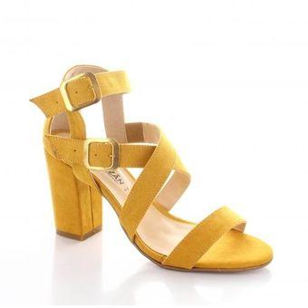 2b05876d Compra Zapatilla para Mujer Emilio Bazan 1053-052892 Color Mostaza ...