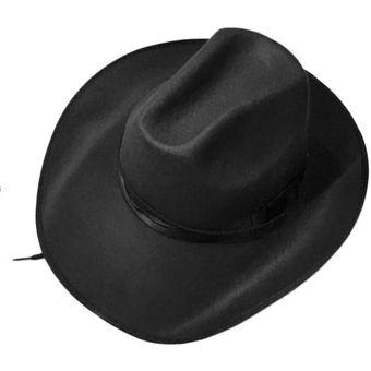 aaa8e187631ca Compra ER Sombrero De Vaquero Negro-Negro online