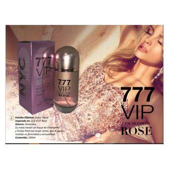 Perfume Mujer 777 VIP Rose 212