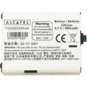 5a69184f069 Batería Alcatel OT-C550 C560 T5000023AAAA Clase A Original - Negro