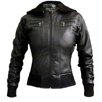 Compra Chaqueta Mujer Cuero Sintético-Negro online  ce271a42364a