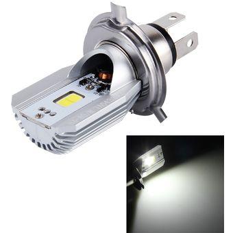 12W Lampara Faro 80vluz COB LED 800lm 6000K H4 La De De MotoDC 6 Blanca fb76gyvIYm