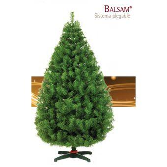 Arbol de navidad artificial balsam 160cm 33250 verde - Arbol artificial de navidad ...