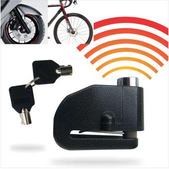 a222be47333b2 Candado Para Moto Motos Bicicleta Seguro Con Alarma Accesorio Seguridad Freno  Disco