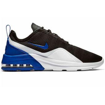 9c279012dff Agotado Tenis Nike Air Max Motion 2 Negro Azul Blanco Originales Ao0266 001