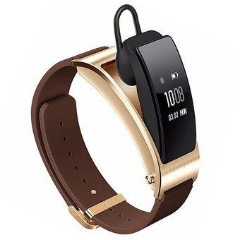 TalkBand B3 5 Bluetooth 4.2 Headset Business Smart Bracelet (Brown)