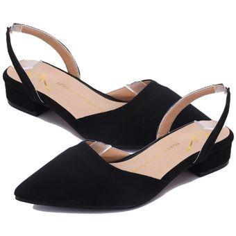 3e962eaaa1d EY Punta-talón Puntera Plana Zapatos De Mujer Mujeres Sandalias Dama Casual  Dreamgirl Tiras-