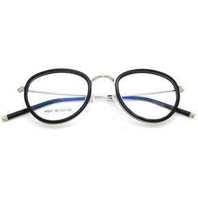 Agotado Retro óptico Gafas Redondo Los Anteojos Marco Moypia Mujer Hombre  Empollón Estilo -N Plateado e37611963d19