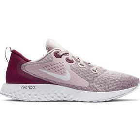 51feabba3 Zapatillas Running Mujer Nike Legend React-Rosa con Vino