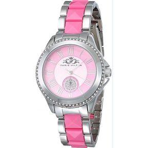 39c9acf0ef3c Reloj Para Dama Paris Hilton Modelo PHT 1103 A Color Plata Rosa