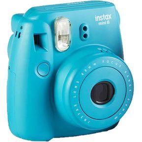 Cámara Instantánea Fujifilm Instax Mini 8 - Tile Blue 7ea8256ad6