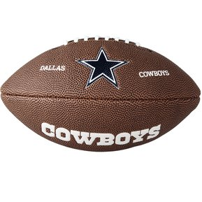 Balón Juvenil NFL Futbol Americano Team Dallas PVC Wilson c78a47fff28
