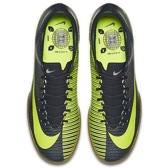 huge selection of e3455 679b5 Compra Guayos Fútbol Niño Nike Jr MercurialX Vapor XI IC -Negro .