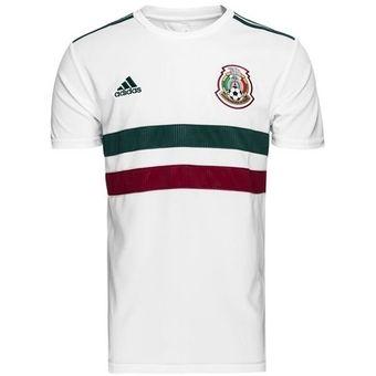 Compra JERSEY ADIDAS MEXICO VISITANTE 2018 BQ4689 BLANCO online ... fd679bfa13e99
