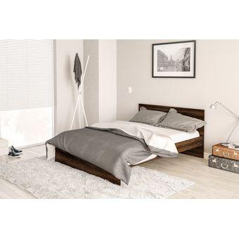 Compra base para cama matrimonial con cabecera kei l v 2 for Tipos de camas matrimoniales