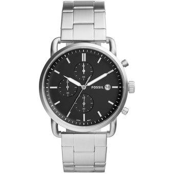 8afd7eecc397 Compra Reloj Fossil The Commuter FS5399 para Caballero - Plateado ...