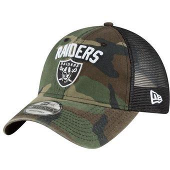 c6ab70f267984 New Era - Gorra para hombre New Era NFL Oakland Raiders - Camuflada