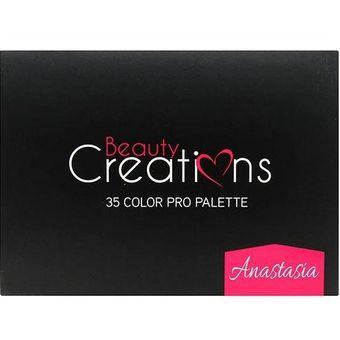 generador de paleta de colores de dormitorio Paleta De Sombras De Ojos 35 Beauty Creations Color Anastasia
