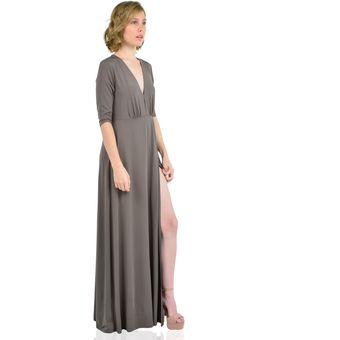 6eea1209f Compra Vestido Largo Manga Larga mujer Aishop AW172-1117-783 online ...