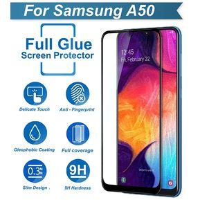 1fe6ac84679 Protector Vidrio Templado 6D Full Pantalla Completa Samsung Galaxy A50