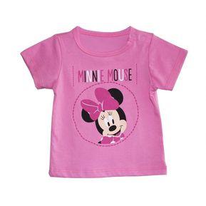 Agotado Camiseta Manga Corta Estampada Bebita Disney DSPM13-01 Fucsia Claro ee172a96c7c3