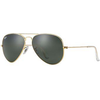 bef0f98060 Compra Ray Ban Aviator 3025 L0205 Dorado / Verde Gafas De Sol online ...