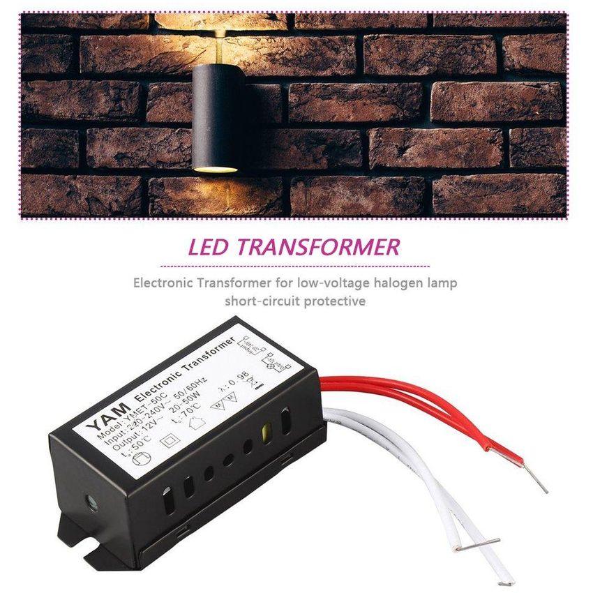 EF AC 220V a 12V 20-50W Lámpara halógena Transformador elec GE598HL1LOBBNLMX 3mUzBedw 3mUzBedw oYLMQA3r