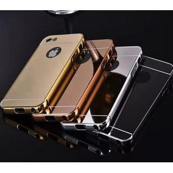 Compra bumper lujo espejo aluminio iphone 4 4s 5 5s - Pulir llantas de aluminio a espejo ...