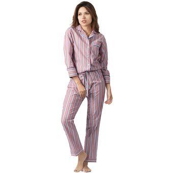 4a4d9b04a5 Compra Conjunto Pijama Mujer Noite Multicolor online
