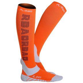 Calcetines Para Mujer Calcetines Compresión De Maratón Deporte Rodilla Alta  Reflexivo - Naranja a3f02651399b9