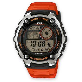 2100w Casio Hombre Para Rojo Ae 4a Reloj Color D9IWE2YeH