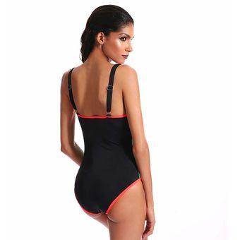 Mujeres Traje De Baño De Sports Body Uno Pieza Natación Baños Traje - Verde 35cfb9e600c9