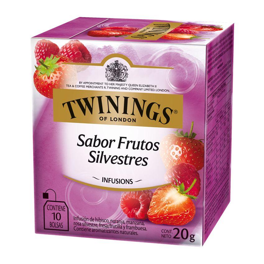 te twinings frutos rojos ingredientes