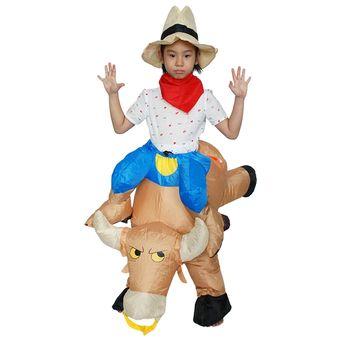 Compra Disfraz De Anime Cosplay Halloween Para Niños - M-Bull Marrón ... fc230e6ed213