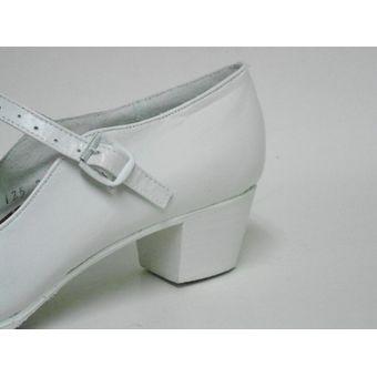 a92bd535 Calzado Para Baile Folklorico O Flamenco Marca COLONIAL Est 125 Color  BLANCO.