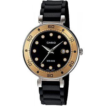 dca17e05b3fc Compra Reloj Casio LTP13299E1 para Mujer - Negro con Dorado online ...