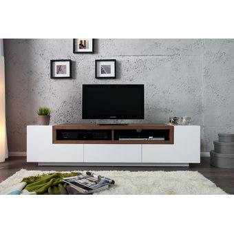 Mesa de television moderna con enchape palisandro ref - Mesas tv diseno ...