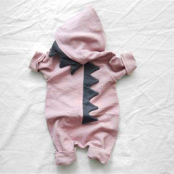 Compra Mono Ropa De Bebé Recién Nacido Con Capucha 60cm-Rosa online ... e66ae654b351