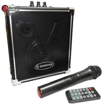47af9fdc7db Compra Parlante Recargable Portatil Karaoke Bluetooth / Fm / Usb ...