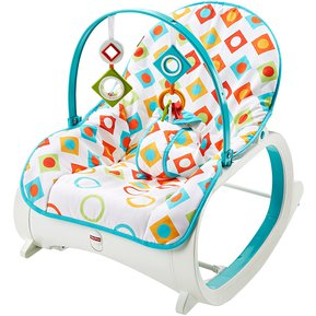 663224a0c Silla Mecedora Vibradora Bebe Diamantes Fisher Price Blanco