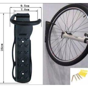 d32d3b3b1df Soporte De Pared Para Bicicletas Gancho + Chazos Y Tornillos