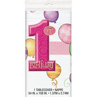 Unique Party Color rosa 1905PC Paquete de 24 velas de cumplea/ños