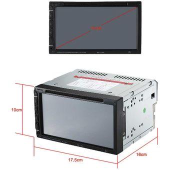 Reproductor DVD Para Carro Bluetooth Winrock MP-1369