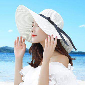 Compra Protector Solar De Verano Sombrero Costero Grande Sol Playa ... 5b7bac91369