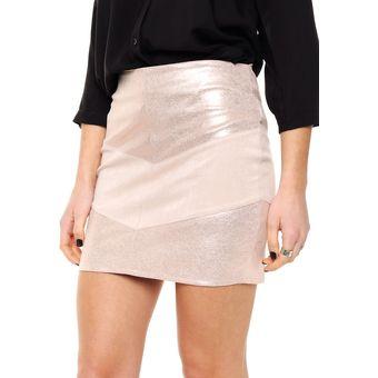 5c6c7a03ea688 Compra Minifalda tubo Mia Loreto Cías - Rosa online