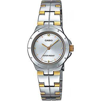 9d4e6bb51d6c Compra Reloj Casio Para Mujer Análogo LTP-1242SG-7C-Plateado Con ...