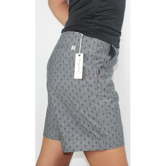Short De Vestir Para Dama Marca Sovereign