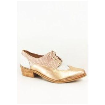 Zapatos Matilda Cobre Liso Rosa NHJ